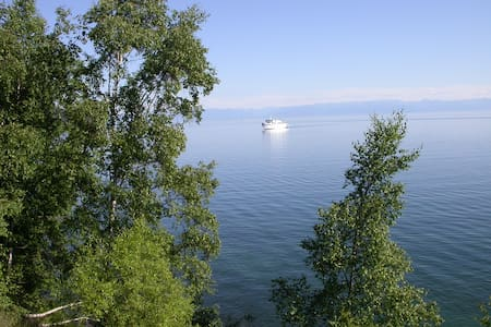 The apartment on the bank of Baikal