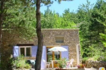 Romantic mountain cottage for two - Saint-Étienne-de-Gourgas