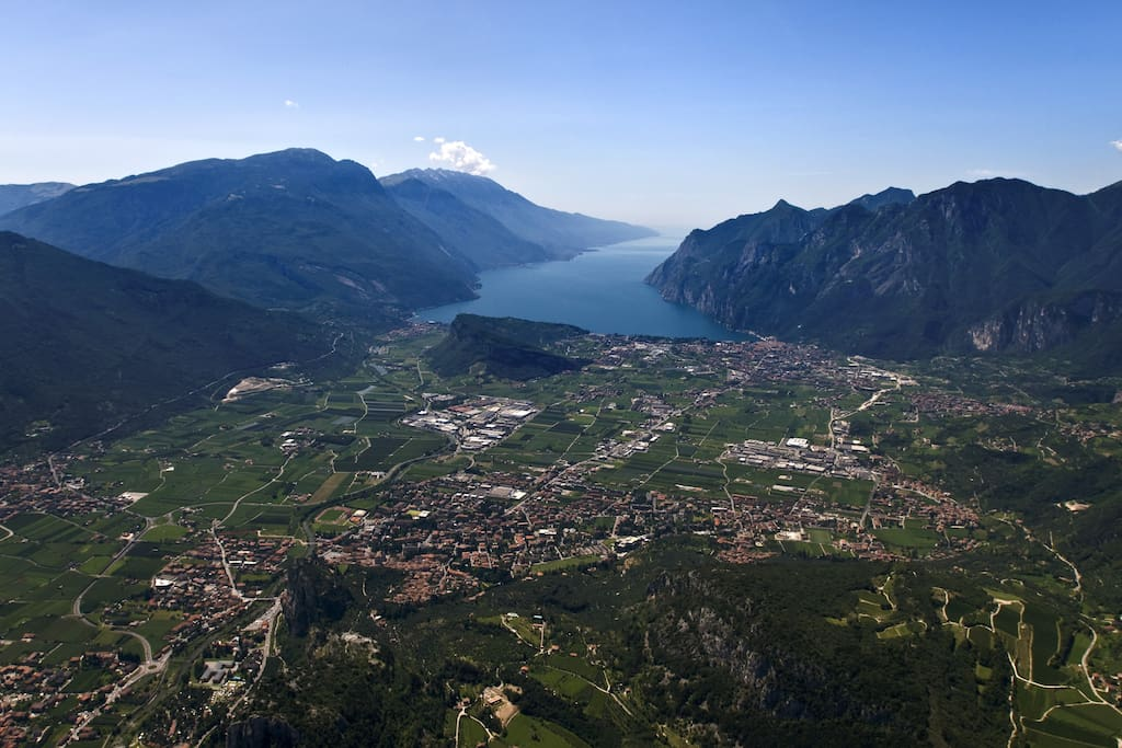 An amazing view of Lake Garda
