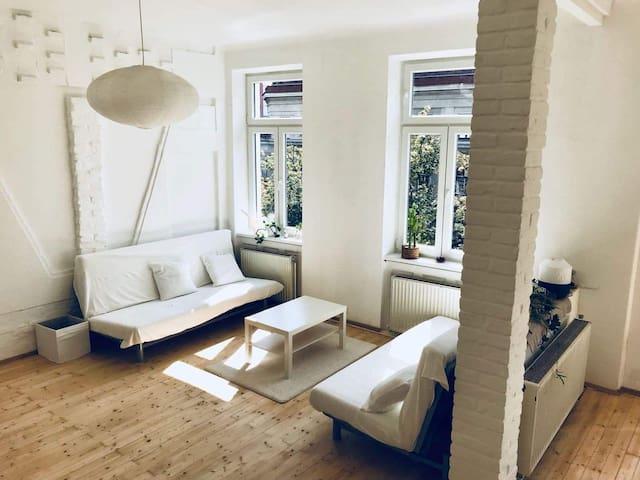 Spacious apartment in beautiful neighbourhood
