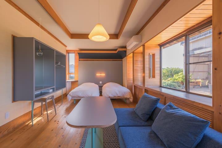 [YUI-ISHIYA] Room B: Spacious Western-style Room