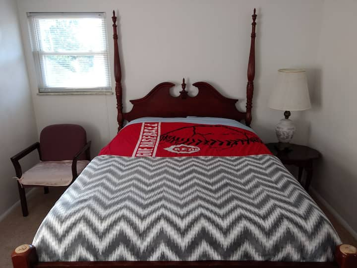 Queen Bed - For now essential jobs only