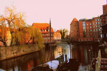 Schönes, stadtnahes & großes Zimmer in Lüneburg - Lüneburg - Huoneisto