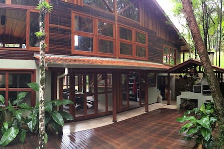 Adventure & Meditation Jungle Home - Morretes - House