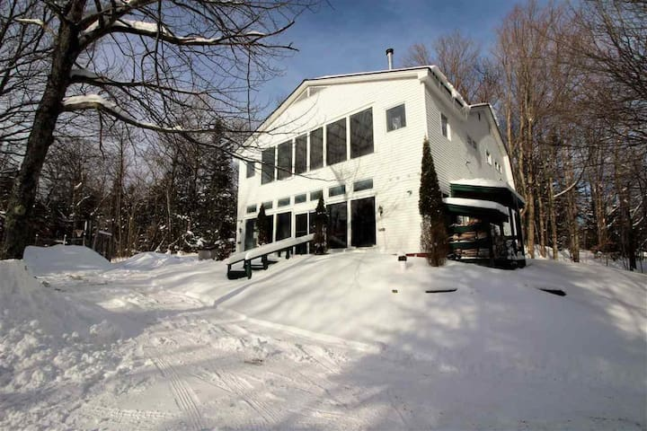 Mt. Snow VT large chalet total rate not cost pp