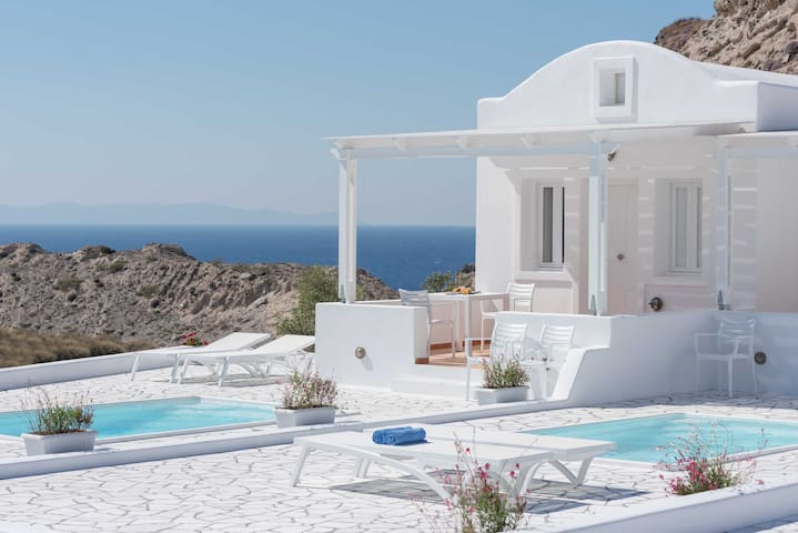 Superior Villa with Private Pool - Oia - Apartamento
