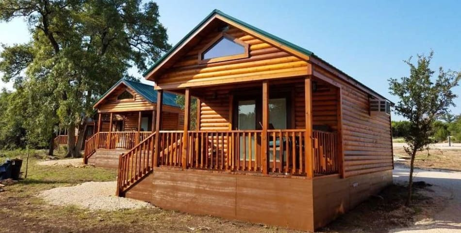 Cabin 1 | Pipe Creek | Bandera | Pool |Vacation TX
