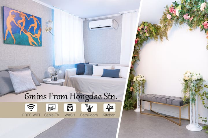 ★Special Artist Place #1_5mins From Hongdae Stn