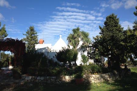 Trulli,depandance,gardens in Valle - Мартина Франка