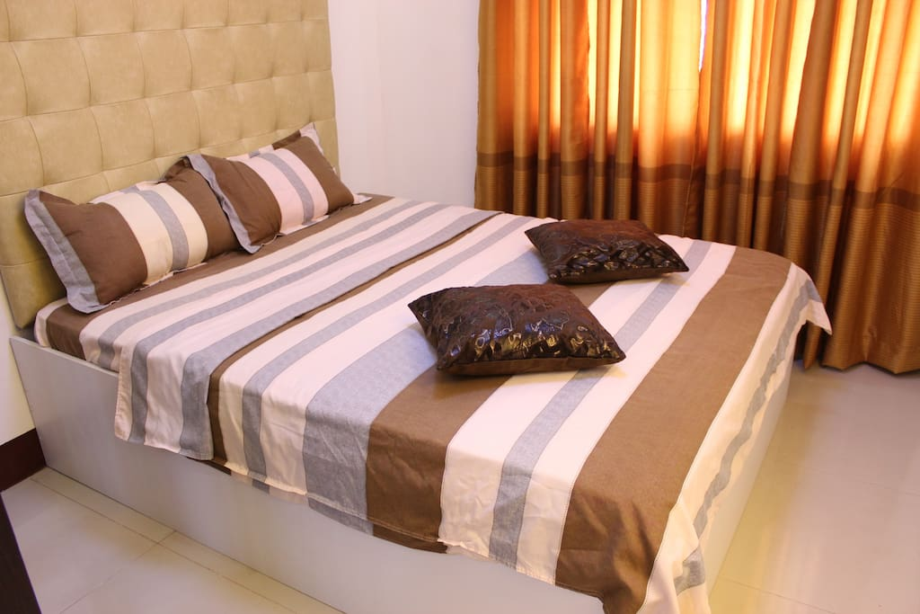 Queen Size Bed for your rest and relaxation