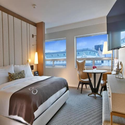 Fascinating Suite Deluxe Two Double Beds At Good Location