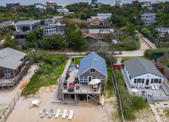 Fire Island Waterfront Oasis w/Private Beach