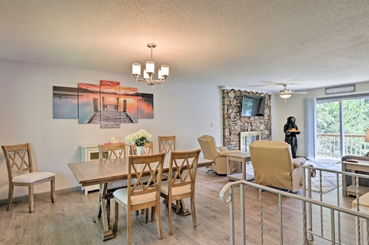 This property features 2 beds, 2 baths, and space for 7.