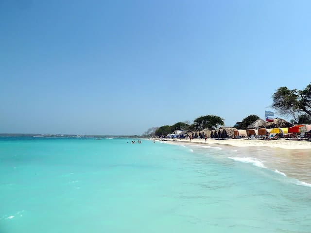 Shekinah-eco-hostel beautifulcabaña - Isla de baru  - Bed & Breakfast