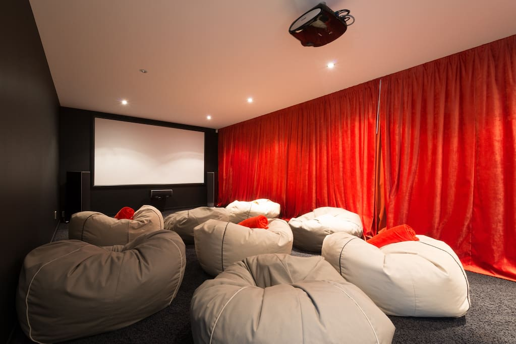 Bottom level cinema