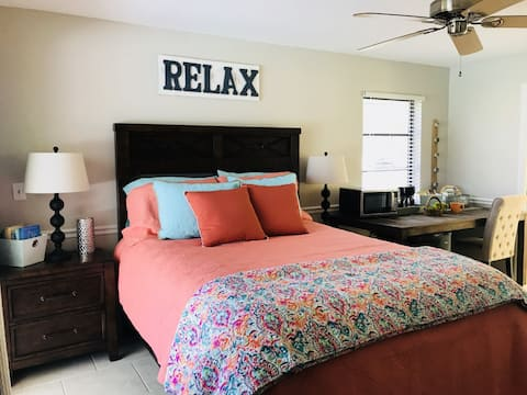 Relax in Paradise Master suite with private entry