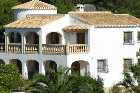 Villa con vistas al Motgó y plena naturaleza - Jávea