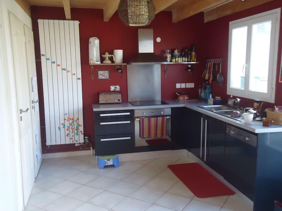 cuisine contemporaine et fonctionnelle