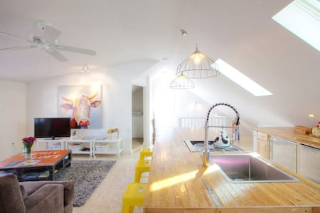 Urban Loft♥ in Broad Ripple Village - Indianapolis - Loft