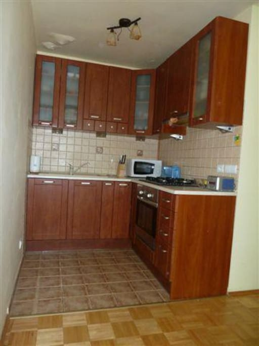 Comfortable and full equipped kitchen