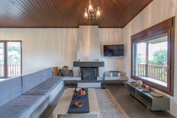 Luxurious House with Sea View - Thimari - Villa