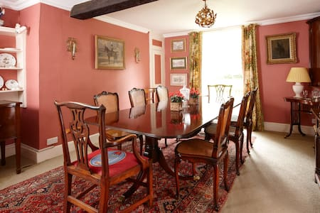 THe Old Vicarage Moreton Pinkney - Moreton Pinkney - Bed & Breakfast