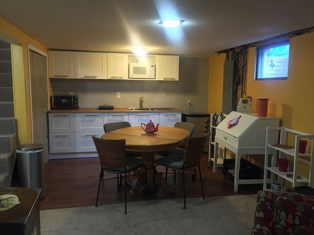 1 or 2 Bedroom Suite in North Fargo - Fargo - Apartemen