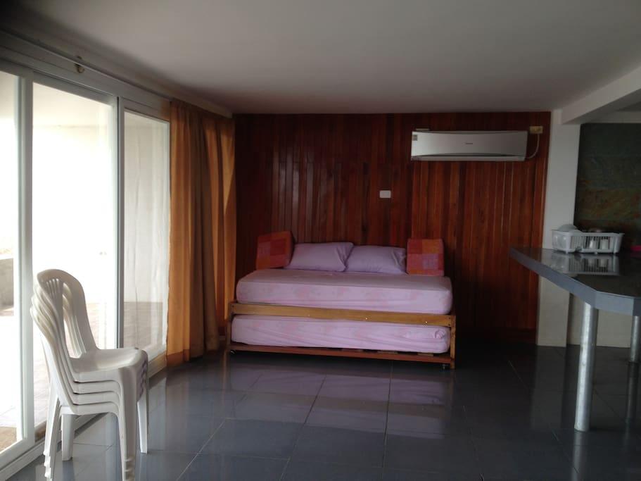 sala y sofas camas departamento 1 / sofa bed suite 1
