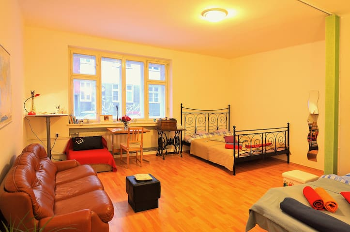 Lavender Room in the City Center - Ostrava - Wohnung