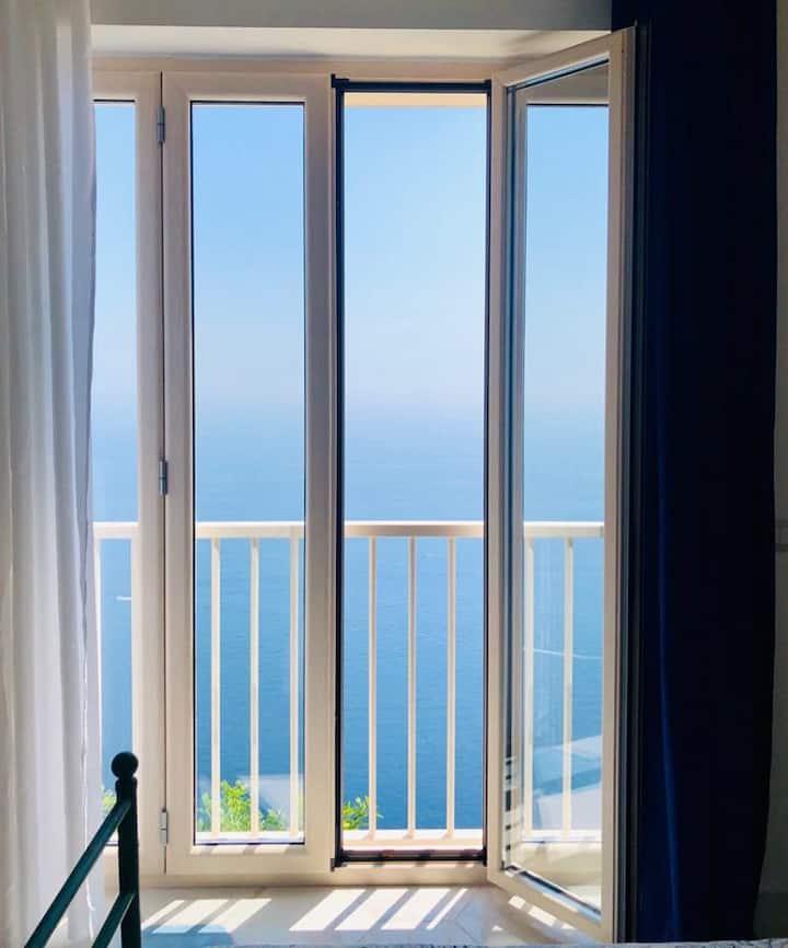 Amalfi Coast Tenuta La Picola Room x4 sea view