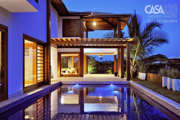 Beach house in Luxury condominium - Praia do Forte - Hus