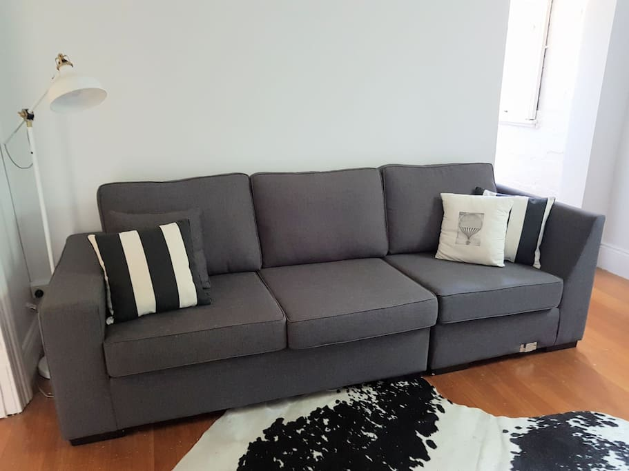 Exclusive use of this living area
