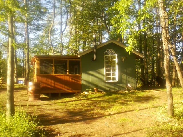 Arrowhead Ridge off-grid cabin