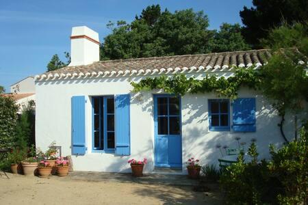 Jolie maison pour deux au Vieil près de la plage - Noirmoutier-en-l'Île - Casa