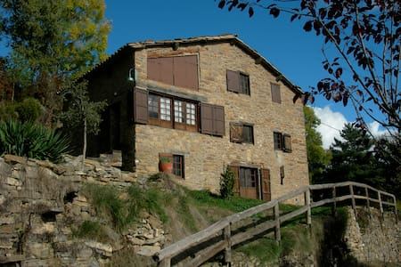 Casa Rural. Masia CAL PERE ONCLET - Castell de l'Areny - House