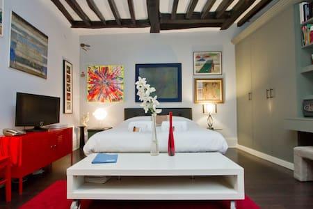 Big Art studio in the Marais !!! - Paris - Apartment
