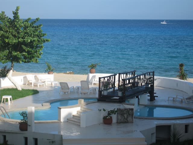 Beautiful Beachfront Condo Private - Cozumel - Apartamento