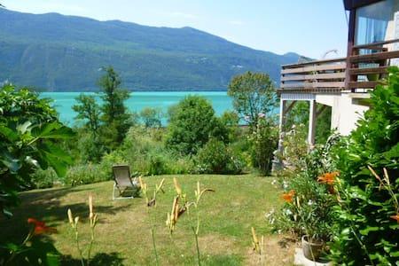 Logement avec jardin au bord lac du Bourget - Brison-Saint-Innocent