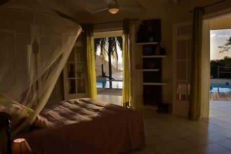 Magnifique chambre vue mer - Deshaies - Hus