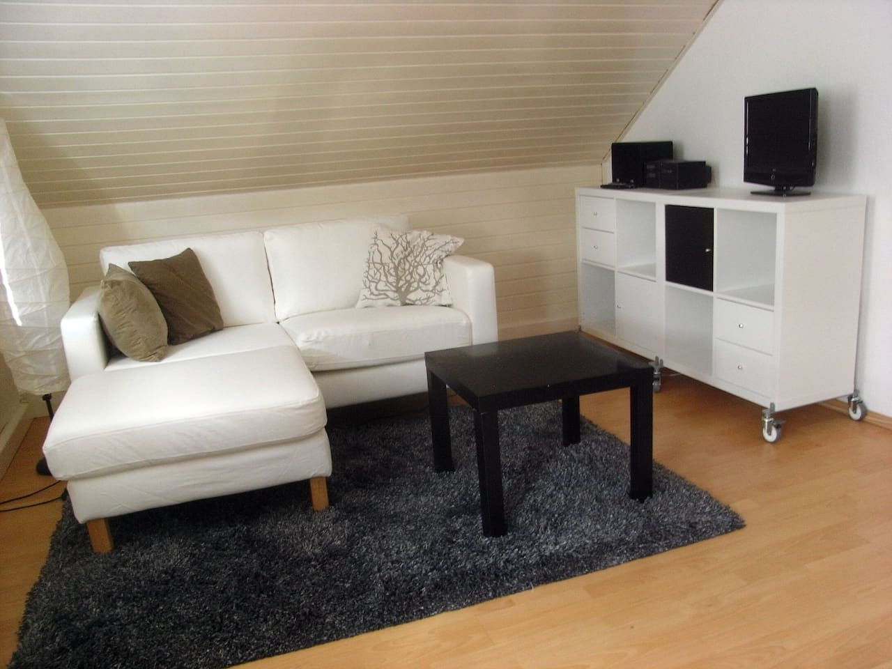 Couchecke mit Sideboards
