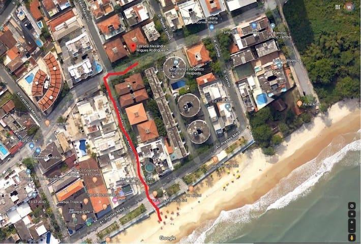 Village,  Praia doTombo, Guarujá...