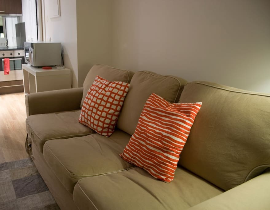 Sofa - Bed in the living room