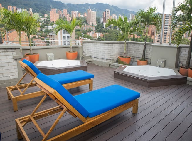 Roof top Jacuzzis