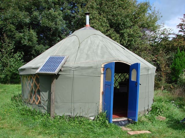 Holiday/ retreat yurt Totnes area - Allaleigh, Blackawton, Totnes - Jurta