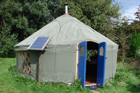 Holiday/ retreat yurt Totnes area - Allaleigh, Blackawton, Totnes