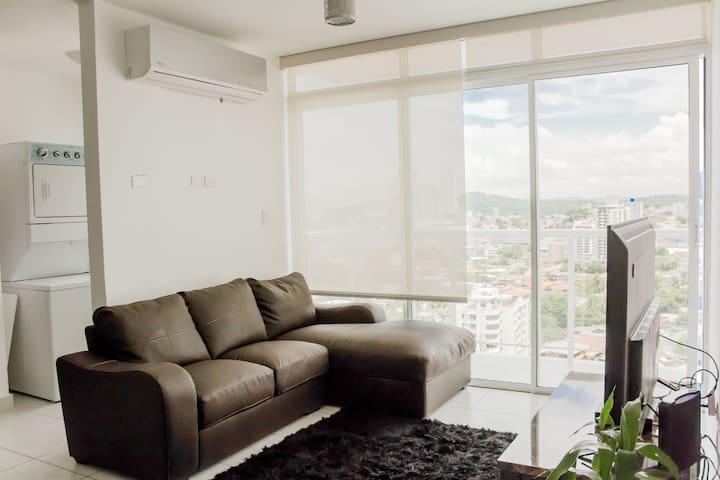 Moderno Apartamento en el corazón de la ciudad.