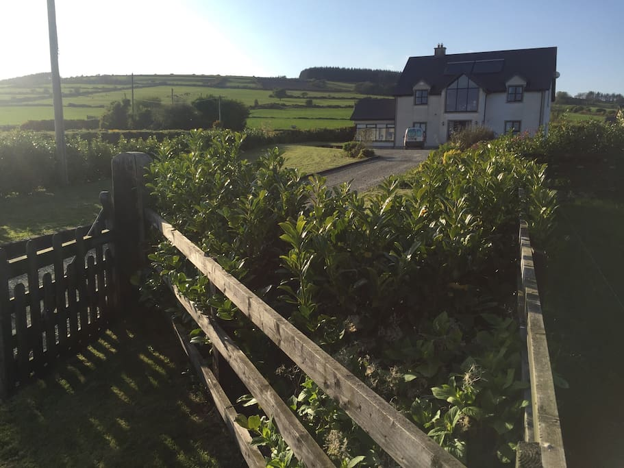 Big garden, knock out views and plenty of room for parking
