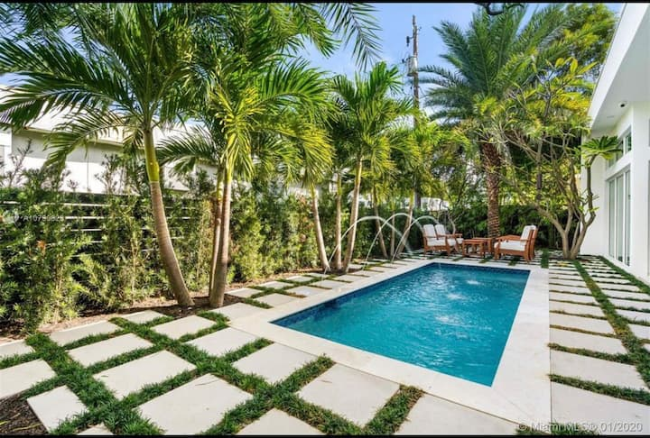 GORGEOUS Villa w pool MIAMI BEACH!By Ritz Carlton!