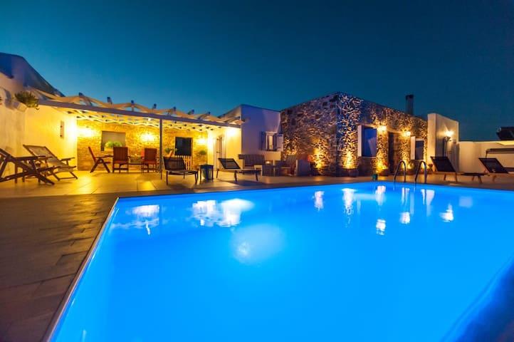 Crystal Villa 2, with private pool - Chrisi Akti - Villa