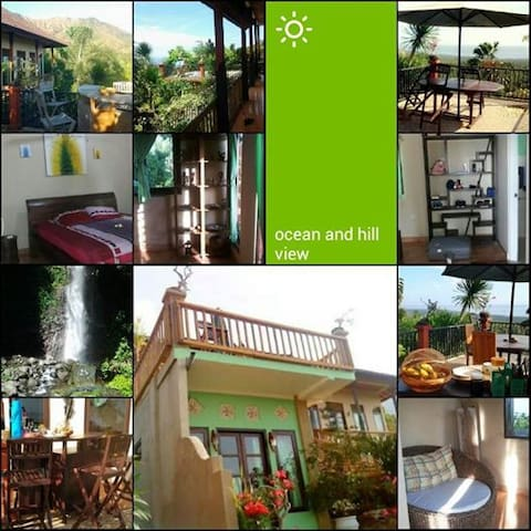 Homestay with seaview and hillview - Desa Les - Appartement